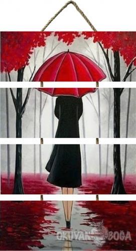 Şemsiyeli Kadın