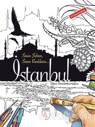 Senin Şehrin Senin Renklerin - İstanbul - 20 Kartpostal (Ciltli)