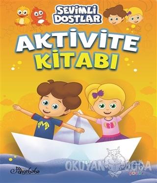 Sevimli Dostlar Aktivite Kitabı - 1 - Özge Gökçek - Martı Çocuk Kulübü