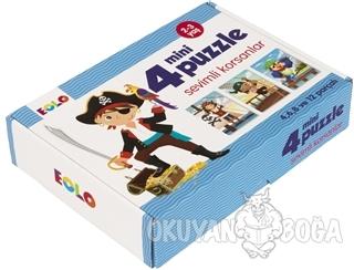 Sevimli Korsanlar - 4 Mini Puzzle