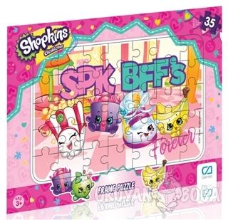 Shopkins - Frame Puzzle 1 (35 Parça)