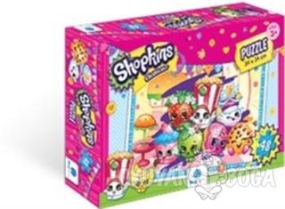 Shopkins Puzzle 48 Parça - Kolektif - Gizzy Art