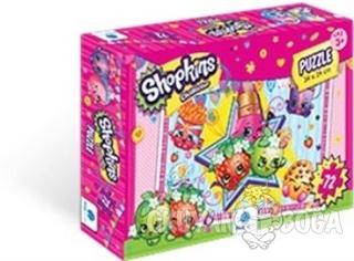 Shopkins Puzzle 72 Parça - Kolektif - Gizzy Art