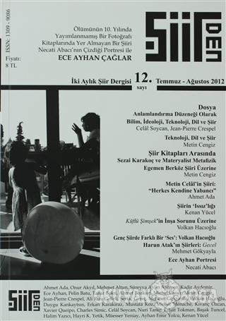 Şiirden İki Aylık Şiir Dergisi Sayı: 12