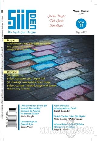Şiirden İki Aylık Şiir Dergisi Sayı: 35 Mayıs-Haziran 2016 - Kolektif