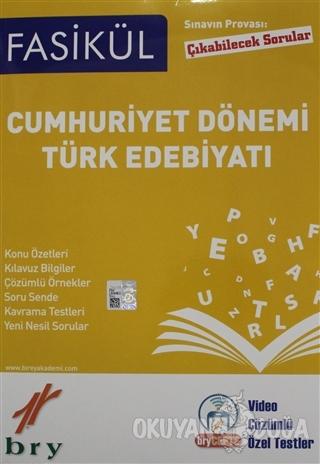 Sınavın Provası Çıkabilecek Sorular - Fasikül Cumhuriyet Dönemi Türk E