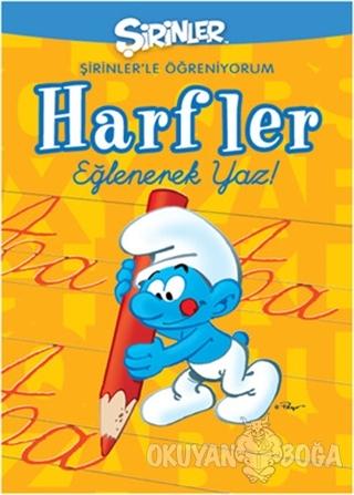 Şirinler - Şirinlerle Öğreniyorum Harfler - Pierre Culliford - GNR Kit