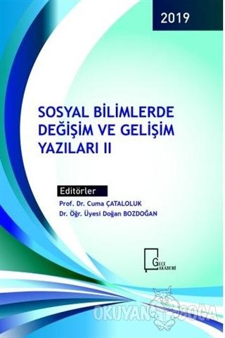 Sosyal Bilimlerde Değişim ve Gelişim Yazıları 2