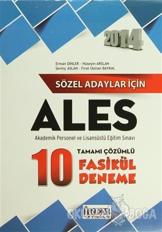 Sözel Adaylar İçin ALES Çözüm Kitabı
