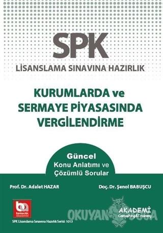 SPK Yeni Adıyla SPF Lisanslama Sınavına Hazırlık Düzey 3 - Türev Araçl