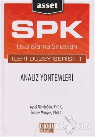 SPK Lisanslama Sınavları İleri Düzey Serisi: 1  Analiz Yöntemleri