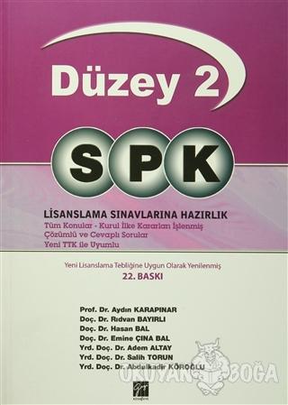 SPK Temel Düzey 2 Lisanslama Sınavlarına Hazırlık