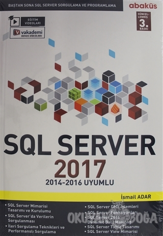 SQL Server 2017 - Baştan Sona SQL Server Sorgulama ve Proglamlama - İs