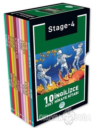Stage 4 İngilizce Hikaye Seti (10 Kitap Takım) - Sir Thomas Malory - M
