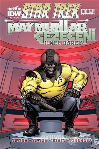 Star Trek Maymunlar Gezegeni - Kapak C - Scott Tipton - Presstij Kitap