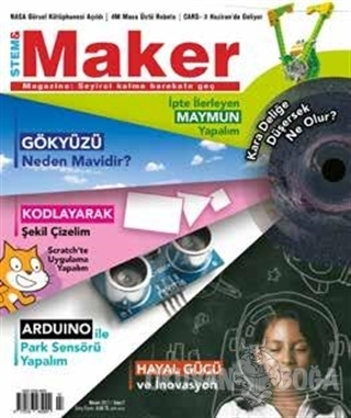 Stem - Maker Magazine Dergisi Sayı : 7 Nisan 2017 - Kolektif - Stem &