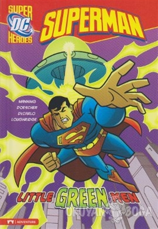 Superman - Little Green Men - Matthew K. Manning - Pearson Hikaye Kita