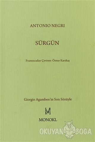 Sürgün - Antonio Negri - MonoKL
