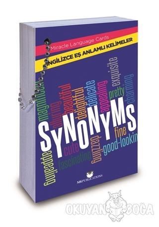 Synonyms - İngilizce Eş Anlamlı Kelimeler - Kolektif - MK Publications
