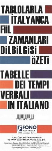 Tablolarla İtalyanca Fiil Zamanları Dilbilgisi Özeti