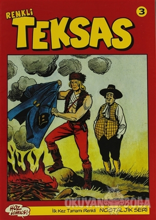 Teksas (Renkli) Nostaljik Seri Sayı: 3