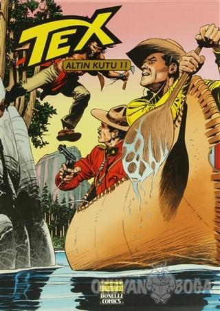 Tex Altın Kutu 11 (12 Dergi Takım) - G. L. Bonelli - Oğlak Yayıncılık