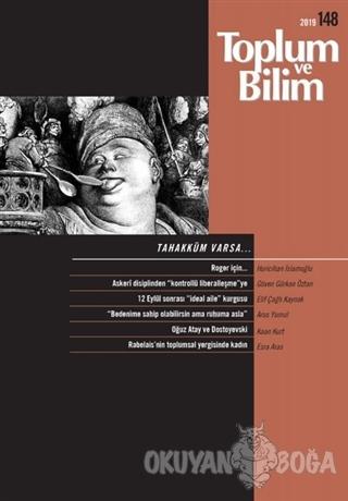Toplum ve Bilim Dergisi Sayı: 148 - Kolektif - İletişim Yayınevi