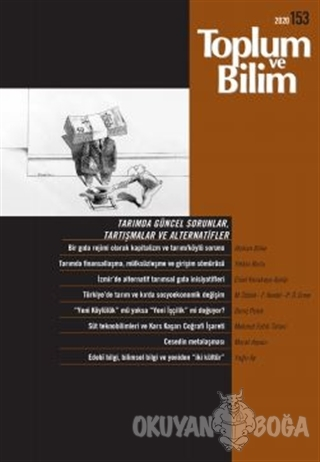 Toplum ve Bilim Dergisi Sayı: 153 - Kolektif - İletişim Yayınevi