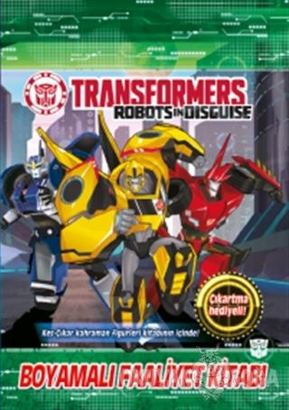 Transformers - Boyamalı Faaliyet Kitabı - Kolektif - Doğan Egmont Yayı