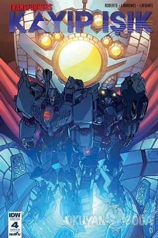 Transformers - Kayıp Işık (Bölüm 4 Kapak B)