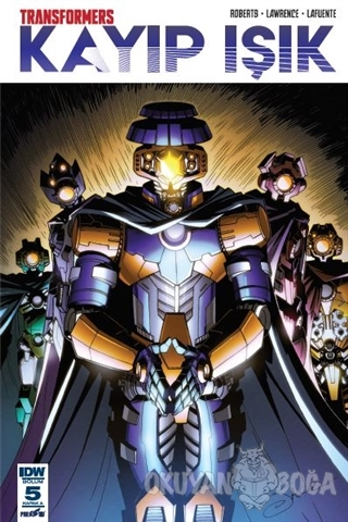 Transformers Kayıp Işık Bölüm 5 (Kapak A)