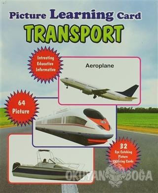 Transport Picture Learning Card (Ciltli) - Kolektif - Jolly Kids