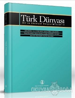 Türk Dünyası Dil ve Edebiyat Dergisi Sayı: 24 - Kolektif - Türk Dil Ku