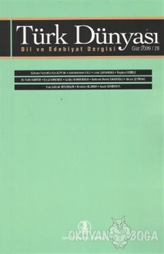Türk Dünyası Dil ve Edebiyat Dergisi Sayı: 28 - Kolektif - Türk Dil Ku