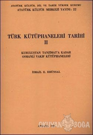 Türk Kütüphaneler Tarihi 2