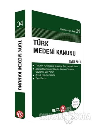 Türk Medeni Kanunu Eylül 2019