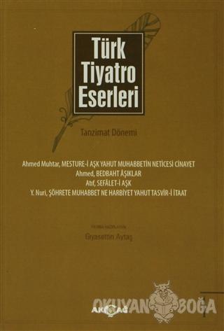Türk Tiyatro Eserleri - Tanzimat Dönemi (5 Kitap Takım) - Kolektif - A