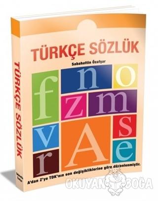 Türkçe Sözlük (İlköğretim İçin) - Sabahattin Özafşar - Ema Kitap