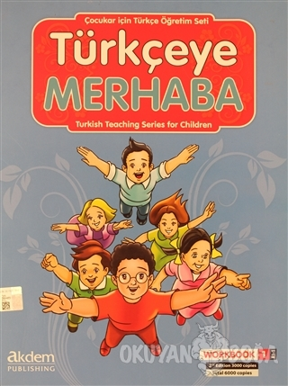 Türkçeye Merhaba- A1-1 Student's Book - Work Book 1 - Kolektif - Akdem