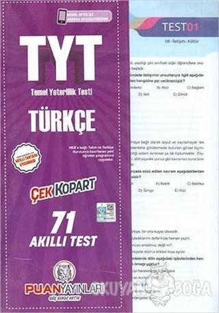 TYT Türkçe Çek Kopart Akıllı Test - Kolektif - Puan Akademi