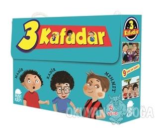 Üç Kafadar (5 Kitap Set) - Yaşar Bayraktar - Mavi Kirpi Yayınları
