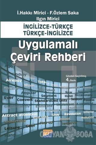 Uygulamalı Çeviri Rehberi - İ. Hakkı Mirici - Siyasal Kitabevi - Eğiti