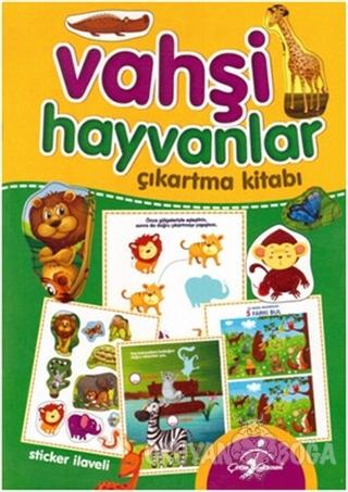 Vahşi Hayvanlar - Çıkartma Kitabı - Kolektif - Çocuk Gezegeni