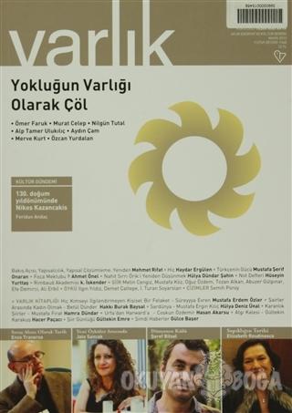 Varlık Aylık Edebiyat ve Kültür Dergisi Sayı: 1268 - Mayıs 2013