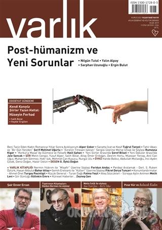 Varlık Aylık Edebiyat ve Kültür Dergisi Sayı: 1336 Ocak 2019