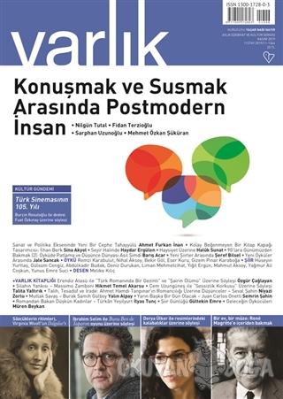Varlık Edebiyat ve Kültür Dergisi Sayı: 1346 Kasım 2019 - Kolektif - V