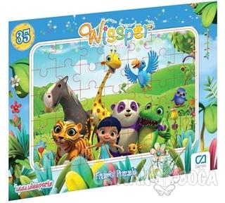Wissper - Frame Puzzle 1 - Mavi (35 Parça)