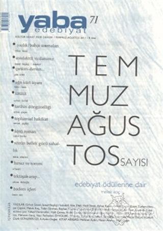 Yaba Edebiyat Dergisi Sayı: 71