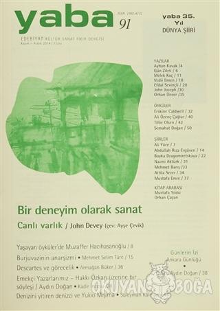 Yaba Edebiyat Dergisi Sayı: 91 - Kolektif - Yaba Yayınları