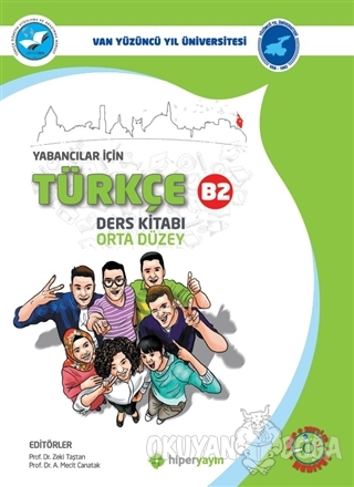 Yabancılar İçin Türkçe Ders Kitabı Orta Düzey B2